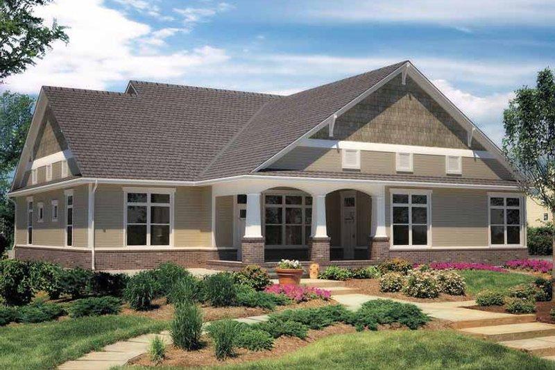 Contemporary Exterior - Rear Elevation Plan #11-272 - Houseplans.com