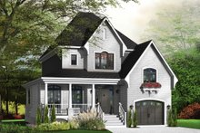 Farmhouse Exterior - Front Elevation Plan #23-807