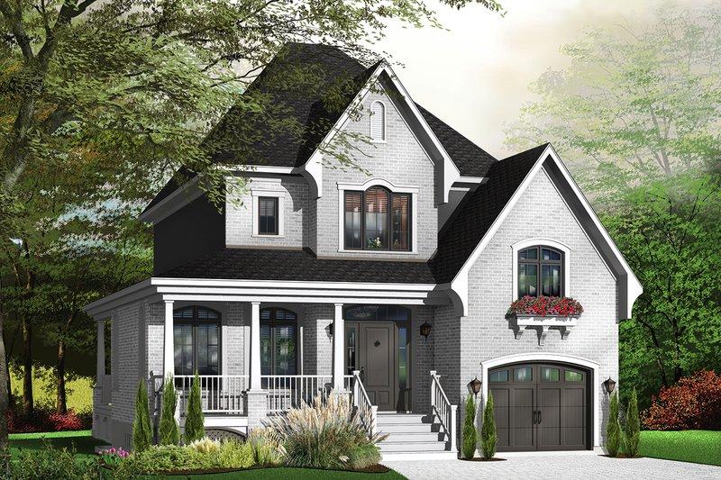 Farmhouse Exterior - Front Elevation Plan #23-807