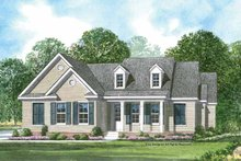 Craftsman Exterior - Front Elevation Plan #952-197