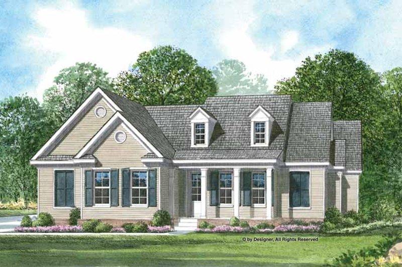 Craftsman Exterior - Front Elevation Plan #952-197