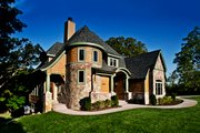 Craftsman Style House Plan - 3 Beds 2.5 Baths 3477 Sq/Ft Plan #928-244 Exterior - Front Elevation