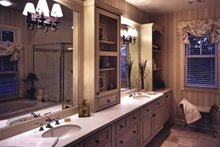 House Plan Design - European Interior - Master Bathroom Plan #928-20