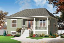 Architectural House Design - Country Exterior - Front Elevation Plan #23-2519