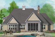 European Style House Plan - 4 Beds 3 Baths 2251 Sq/Ft Plan #929-1028