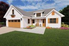 Dream House Plan - Farmhouse Exterior - Front Elevation Plan #126-179
