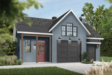 House Plan Design - Farmhouse Exterior - Front Elevation Plan #23-2731