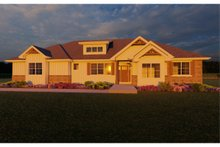 Home Plan - Ranch Exterior - Other Elevation Plan #126-186