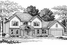 House Design - Bungalow Exterior - Front Elevation Plan #70-491
