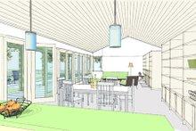 Ranch Interior - Family Room Plan #445-6