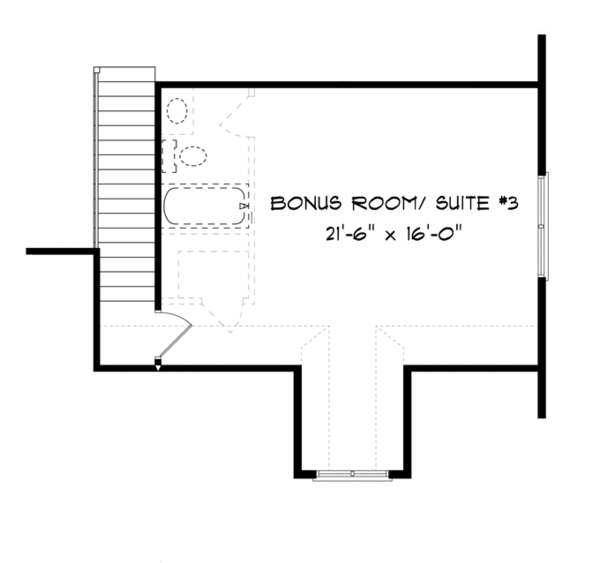Country Floor Plan - Other Floor Plan Plan #413-893