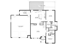 Cottage Floor Plan - Main Floor Plan Plan #1060-64