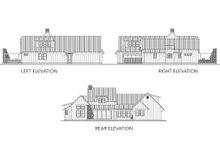 Dream House Plan - Farmhouse Exterior - Other Elevation Plan #80-219