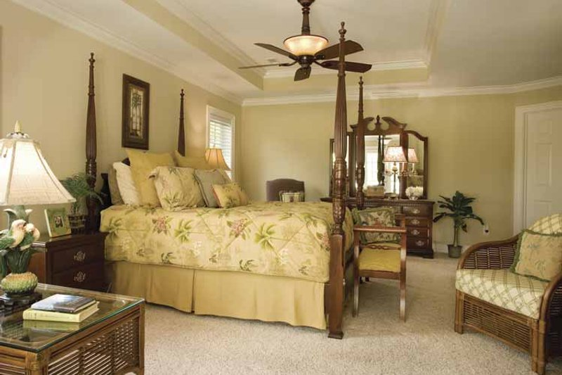 Country Interior - Master Bedroom Plan #930-123 - Houseplans.com