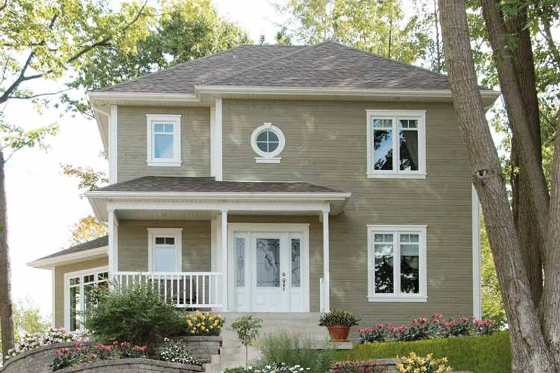House Plan Design - Traditional Exterior - Front Elevation Plan #23-2325