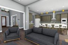 Adobe / Southwestern Interior - Kitchen Plan #1069-22