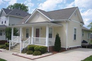 Dream House Plan - Craftsman Exterior - Front Elevation Plan #936-19