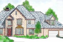 House Plan Design - Country Exterior - Front Elevation Plan #52-246