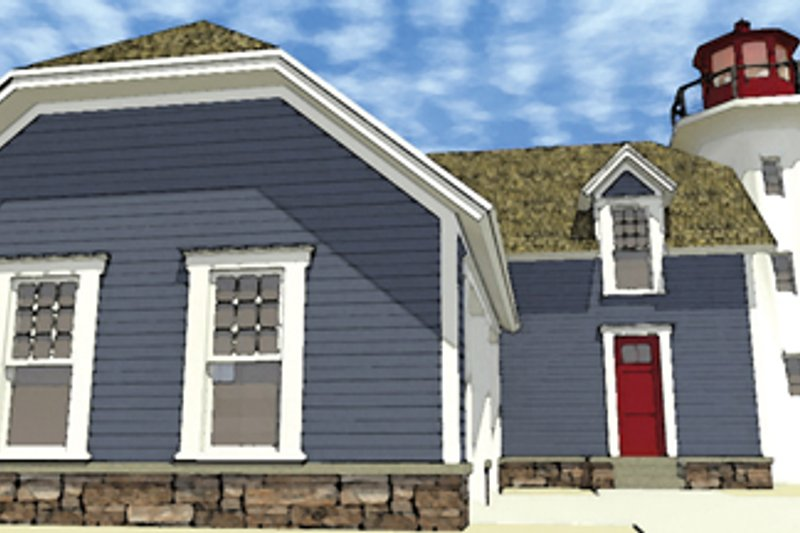 Colonial Exterior - Front Elevation Plan #64-302 - Houseplans.com