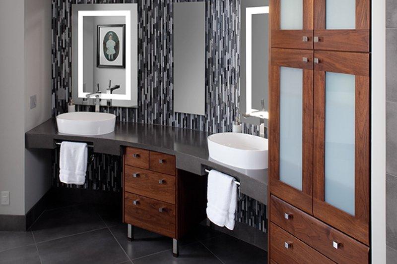 Contemporary Interior - Master Bathroom Plan #928-255 - Houseplans.com