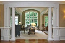 Tudor Interior - Family Room Plan #928-27