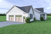 Contemporary Style House Plan - 4 Beds 2.5 Baths 2883 Sq/Ft Plan #1070-85