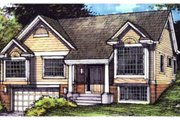 Traditional Style House Plan - 3 Beds 2 Baths 2299 Sq/Ft Plan #320-369 Exterior - Front Elevation