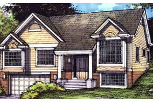 Traditional Exterior - Front Elevation Plan #320-369