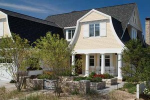 Dream House Plan - Colonial Exterior - Front Elevation Plan #928-179