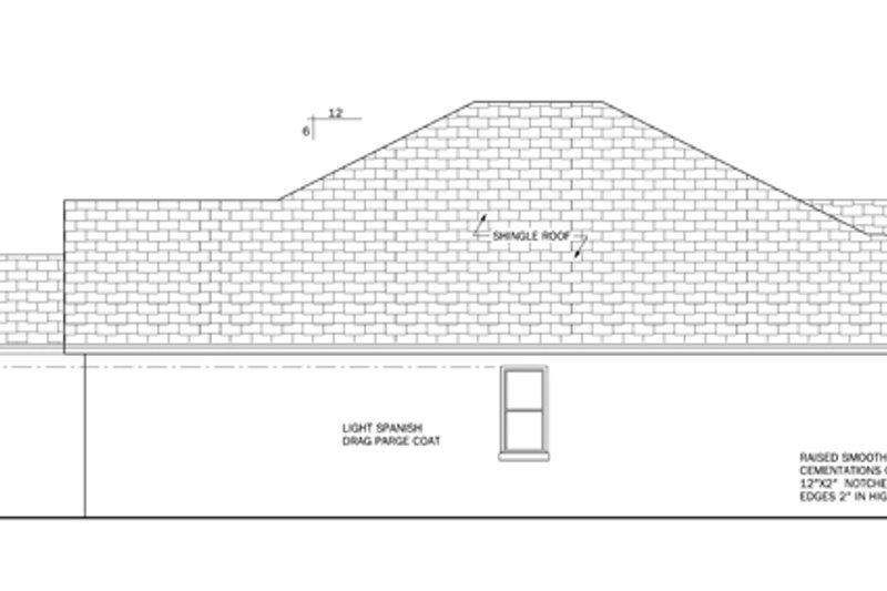 Mediterranean Exterior - Other Elevation Plan #1058-36 - Houseplans.com