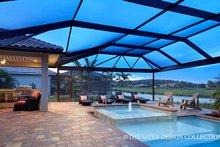 Dream House Plan - Mediterranean Exterior - Outdoor Living Plan #930-457