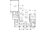 Prairie Style House Plan - 3 Beds 3.5 Baths 2476 Sq/Ft Plan #930-463 Floor Plan - Main Floor Plan