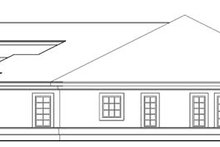 Mediterranean Exterior - Other Elevation Plan #124-411