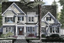 House Plan Design - Traditional Exterior - Front Elevation Plan #316-289