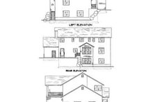 Home Plan - Country Exterior - Rear Elevation Plan #5-185