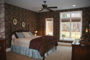 European Style House Plan - 2 Beds 2.5 Baths 2699 Sq/Ft Plan #928-190 Interior - Bedroom