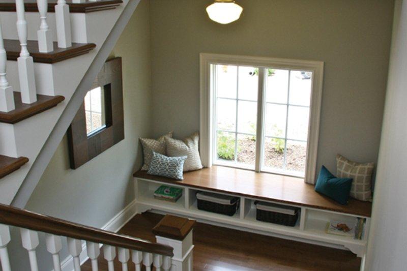 Tudor Interior - Entry Plan #928-257 - Houseplans.com