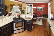 Country Interior - Kitchen Plan #929-502