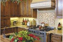 Architectural House Design - Mediterranean Interior - Kitchen Plan #930-57