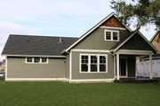 Craftsman Style House Plan - 3 Beds 2.5 Baths 2187 Sq/Ft Plan #1070-50 Exterior - Rear Elevation