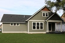 Craftsman Exterior - Rear Elevation Plan #1070-50