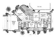 Farmhouse Style House Plan - 4 Beds 3.5 Baths 3064 Sq/Ft Plan #310-624 Floor Plan - Main Floor