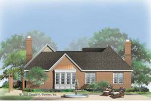 Country Exterior - Rear Elevation Plan #929-773