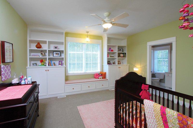 Craftsman Interior - Bedroom Plan #928-277 - Houseplans.com