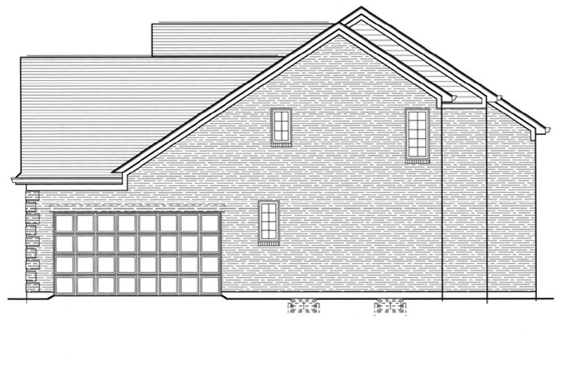 Colonial Exterior - Other Elevation Plan #46-734 - Houseplans.com