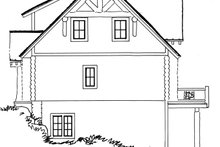 Dream House Plan - Log Exterior - Other Elevation Plan #942-23