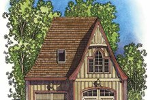 Home Plan - Exterior - Front Elevation Plan #1016-77