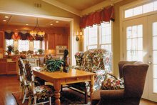 Home Plan - Classical Interior - Dining Room Plan #429-248