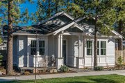 Craftsman Style House Plan - 3 Beds 2 Baths 1729 Sq/Ft Plan #895-56 Exterior - Front Elevation