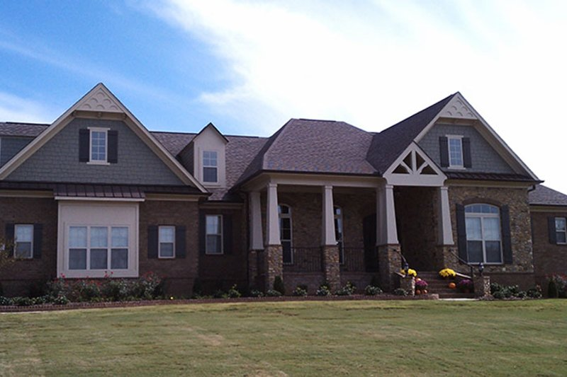 Country Exterior - Front Elevation Plan #927-415 - Houseplans.com
